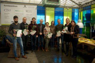 Certificaat uitreiking Plantenkennis bij Greenlink